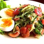 204 Cucumber Salad With Boiled Egg (Isan Specialty)