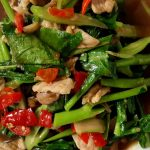 209 Roasted Kale In Oyster Sauce