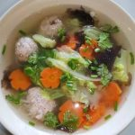 218 Minced Pork With Glass-Noodle Soup