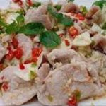 222 Spicy Salad With Chunks In Lemon Sauce