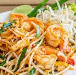 235 Fried Noodles With Egg, Soy Sprouts, Spring Onions, Peanuts And Spices