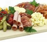 9 Cold Cut and Cheese Plater