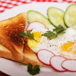 13 Two Fried Eggs on Toast